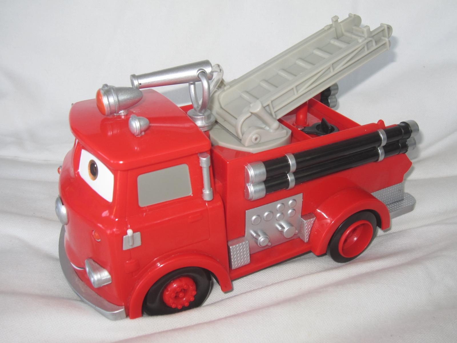Camion de pompiers red dans cars aukazoo - Camion pompier cars ...