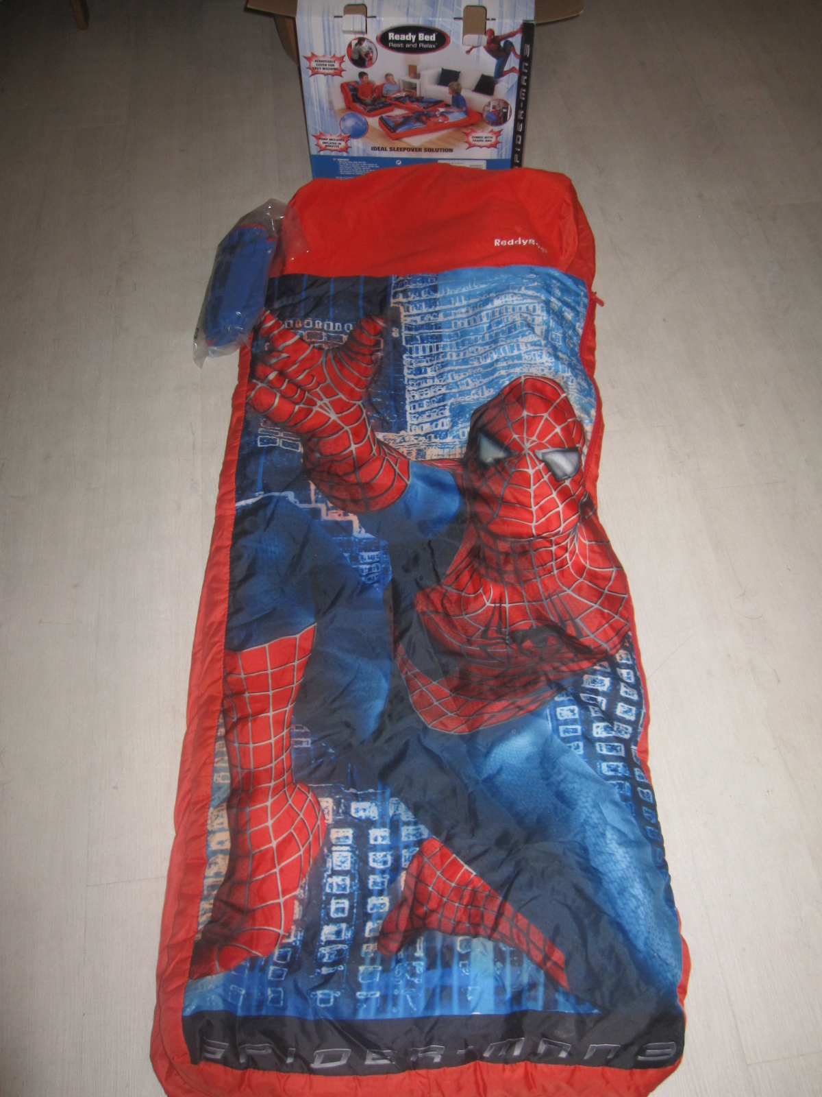 Ready bed sac de couchage avec matelas int gr aukazoo - Sac de couchage avec matelas gonflable integre ...